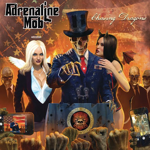 Adrenaline Mob альбом Chasing Dragons