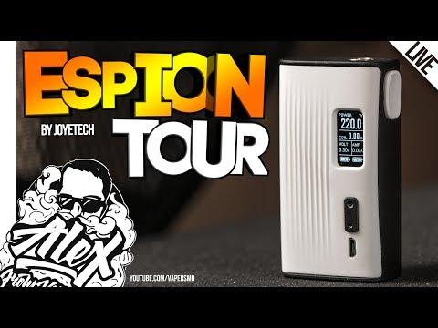 А ОН НЕПЛОХ! l ESPION TOUR 220W l by Joyetech l Alex VapersMD review 🚭🔞