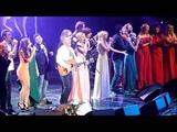 Леонид Агутина, Анастасия Спиридонова и все участники концерта - На сиреневой луне. Крокус.