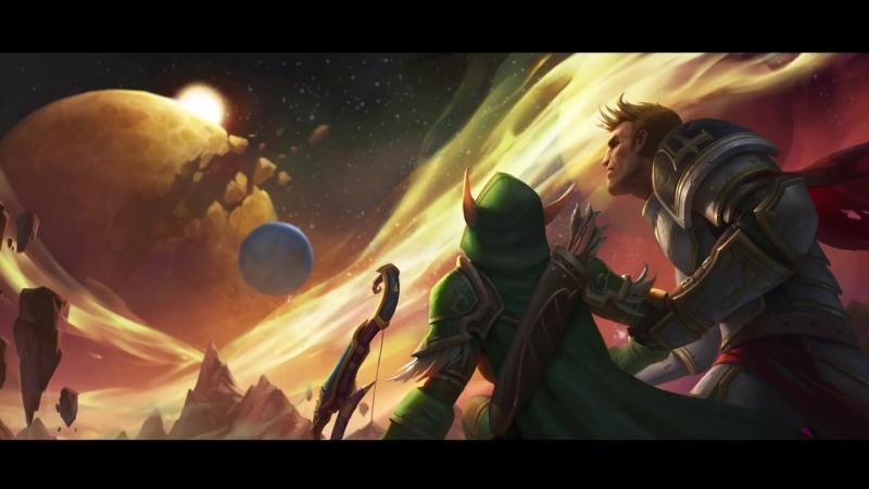 World of Warcraft: Тысяча лет войны, Часть первая. Два светоча.