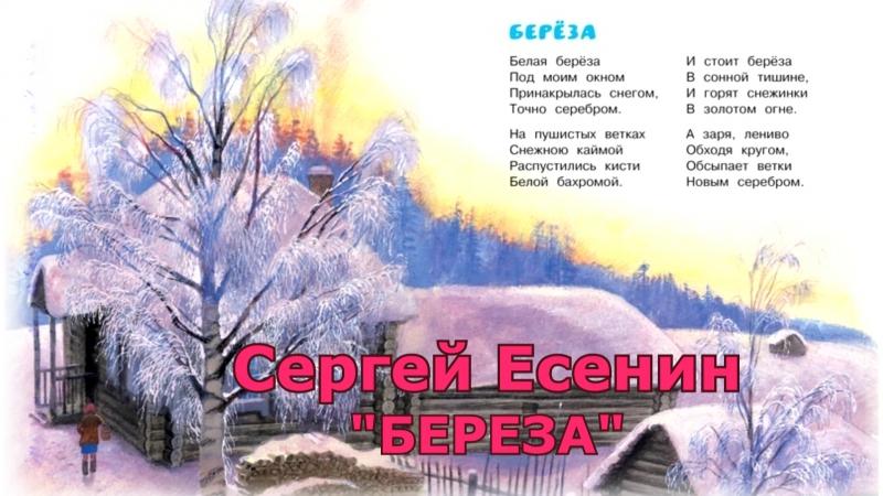 Федорина Изабелла - Сергей Есенин Береза