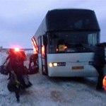 В Татарстане столкнулись грузовик и автобус с хоккеистами