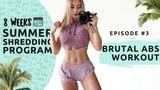 Chloe Ting - Brutal Abs Workout. 8 week Summer Shredding |  Интервальная тренировка для живота