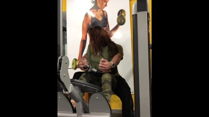 тренировка с девушкой