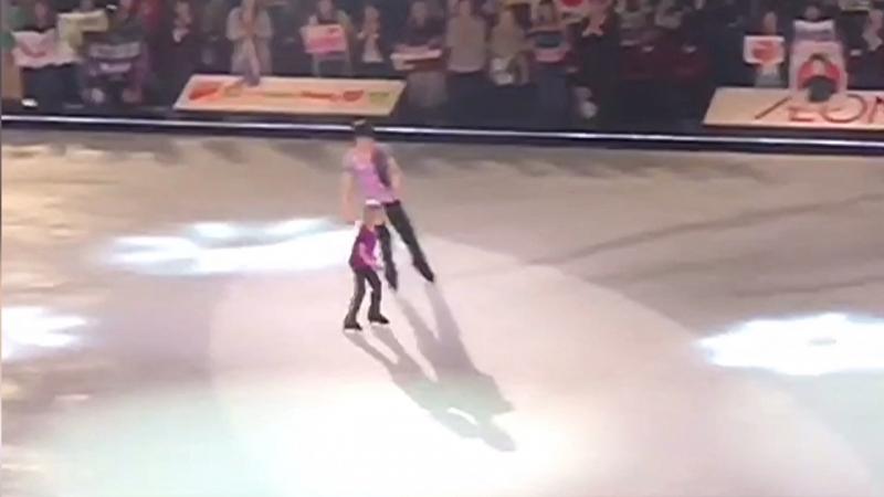 Yuzuru Hanyu, Alexandr Plushenko - FaOI in Kobe