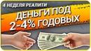 Реалити Шоу 4 неделя Как получить КРЕДИТ ДЁШЕВО Обеспечение контракта Выгодный кредит на бизнес