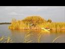Вело-Водный Поход на Озеро. Ночевка На Острове. Рыбы Нет, Но Я Держусь.