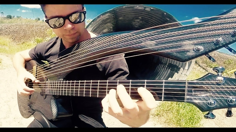 Zombie (The Cranberries) - Harp Guitar Cover - Jamie Dupuis