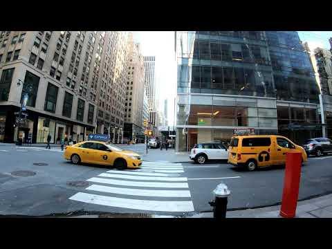 ⁴ᴷ⁶⁰ Walking Tour of NYC Manhattan Madison Avenue from Midtown to the Flatiron District
