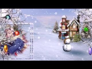 Зимняя история - шаблоны для детского слайд-шоу