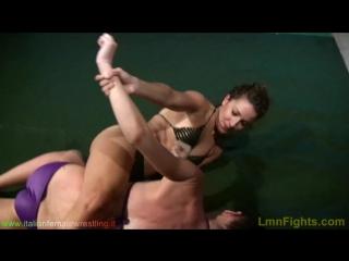 Italian Female Wrestling - Andrea vs Rachele (1280)(01-27)