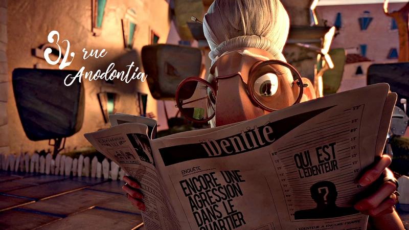Ул. Анодонтия, 32 32 Rue Anodontia. - Animated Short