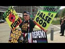 Westboro Baptist Church preaches the gospel of Jesus Christ to Pittsburgh PA 10 5 6 17