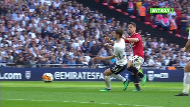 FA Cup semi final Manchester United-Tottenham Hotspur Herrera 2-1