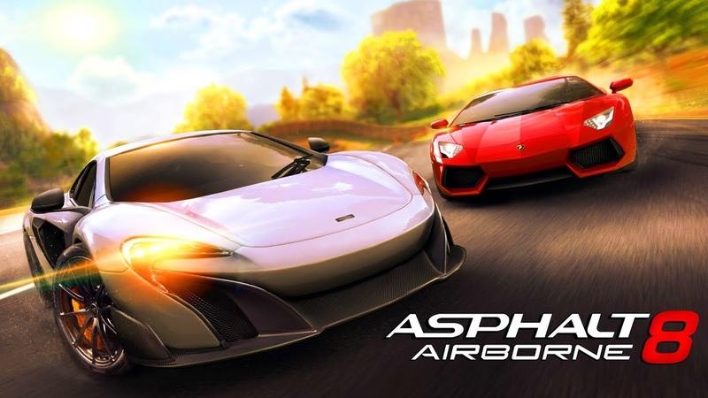 Мультики про Машинки для Детей Игры Гонки Спорткары Суперкары Asphalt 8 Airborne 7