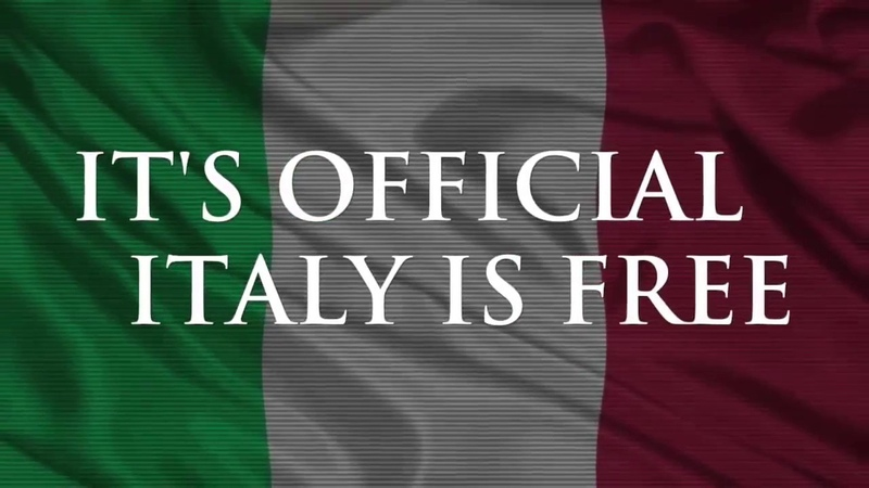 ES IST OFFIZIELL Italien ist frei ! Q Anon - Qlobal Change