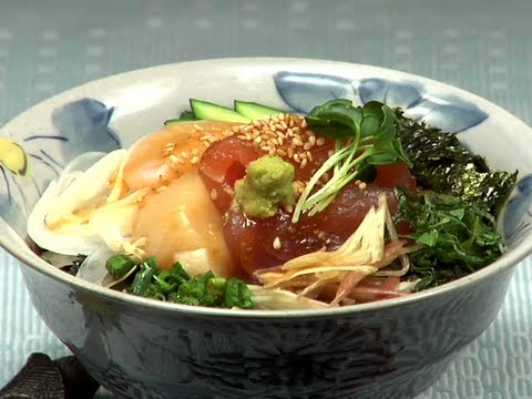 How to Make Kaisendon (Japanese Sashimi Rice Bowl Recipe) 海鮮丼 作り方レシピ