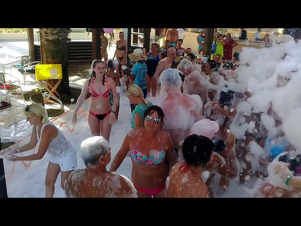 Hotel Marhaba Resort Sousse, Tunisie mousse party