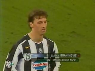 111 CL-2004/2005 Juventus - AFC Ajax 1:0 (23.11.2004) HL