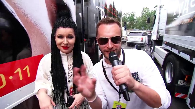 ЁЛКА на backstage Europa Plus LIVE 2017!