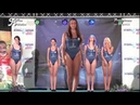 High-cut swimsuits in beauty pageant