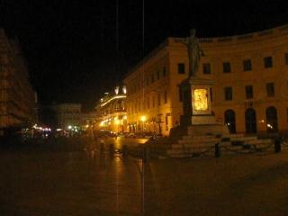 Моя интервальная съёмка Zeitraffer, Timelapse - 10 - / Одесса.6.08.18. 2 ночи - памятник Дюку (герцогу) де Ришелье