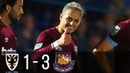 Wimbledon vs West Ham 1 3 All Goals and Highlights League Cup 28 08 2018 HD