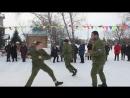 Казаки станицы Алексеевская на праздновании Масленицы в Куркуле 2018