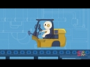 Forklift Finleys Factory Ep.8 Cartoon for kids