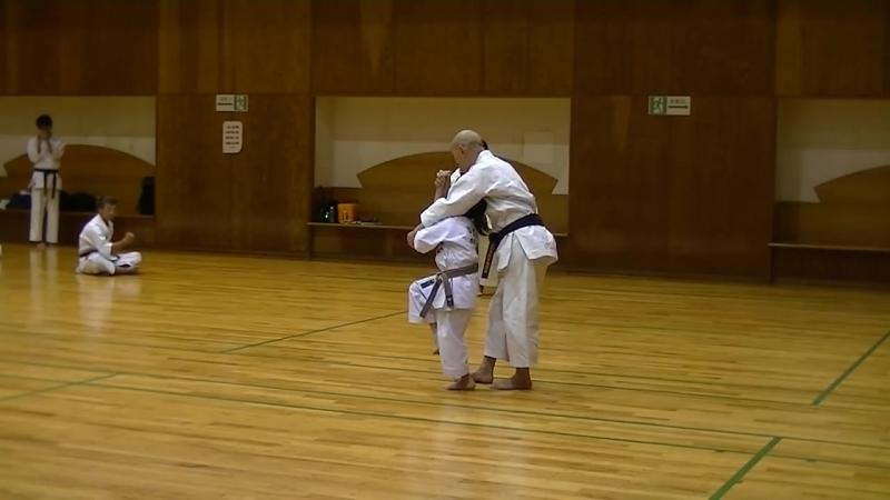 JKF 平安四段 Heian yondan Seminar by Noboru Kato 2017-05-20@Nagaoka 全空連基本形三