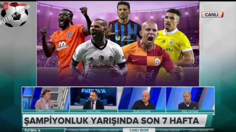 Galatasaray FutbolA - Fatih Terimin Etkisi ve Şampiyonluk Yorumları 5 NİSAN 2018