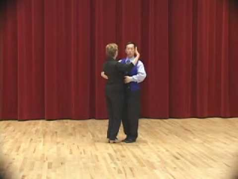 Bronze Tango Open Reverse Turn Ballroom Dance Lesson