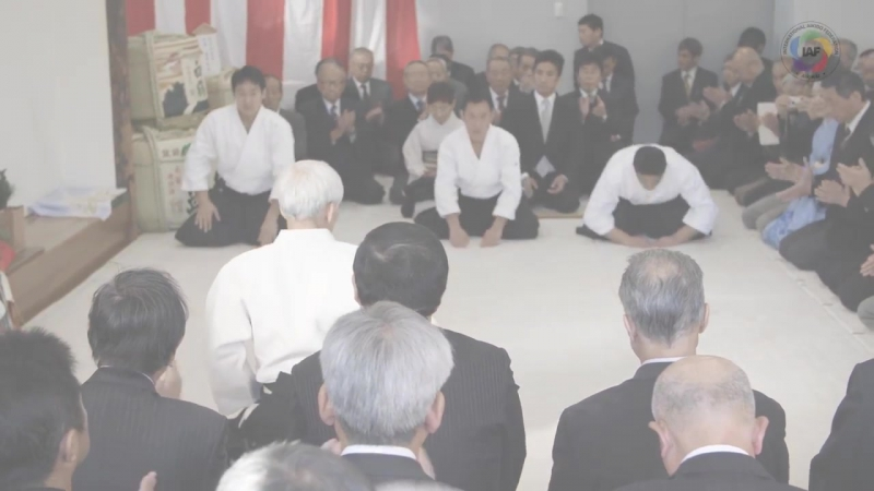 Aikido Doshu Demonstration Kagamibiraki 2018