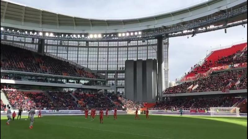 Стадион в Екатеринбурге на матче Урал Спартак забит до отказа