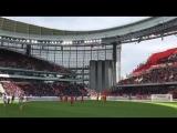 Стадион в Екатеринбурге на матче