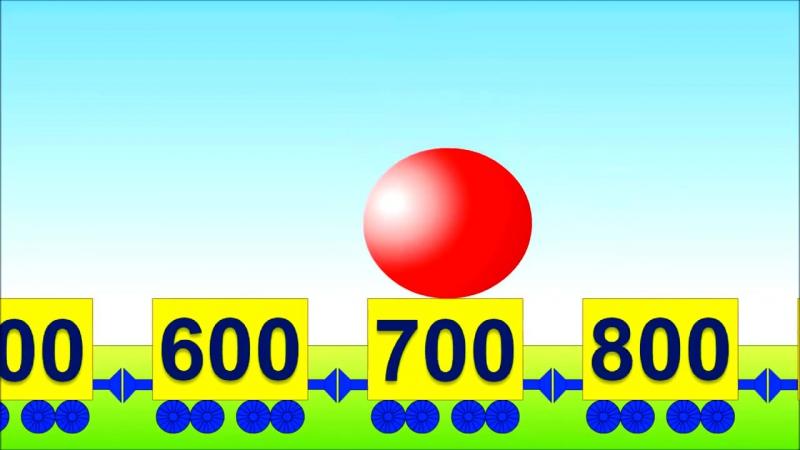 Развивающие мультики. Математика для малышей- Учимся считать сотнями от 100 до 1000 и обратно » Freewka.com - Смотреть онлайн в хорощем качестве