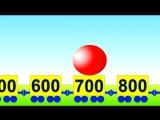Развивающие мультики. Математика для малышей- Учимся считать сотнями от 100 до 1000 и обратно