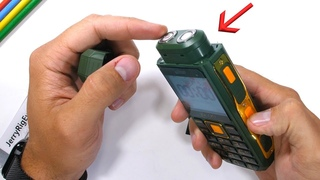 A Phone you can SHAVE with?! - Durability Test