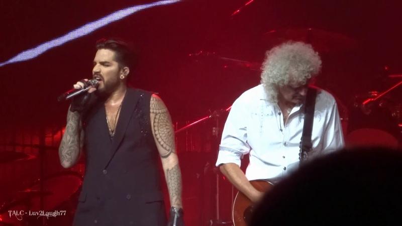 Q ueen Adam Lambert - A nother One B ites The Dust - P ark Theater - Las Vegas - 9.22.18