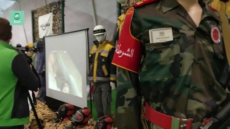 «Армия-2018» Выставка трофеев, захваченных у международных террористов, значительно расширилась