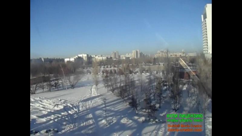 Астана 6 января Набережка аквопарк акеонариум колесо обозрения Байтерек и тд смотреть онлайн без регистрации