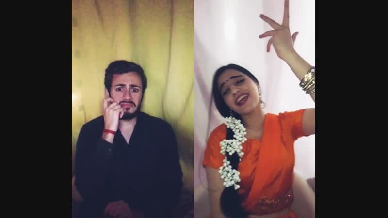 Rima Shamo Aleksandre Tamarashvili | Chennai Express | Comedy Scene