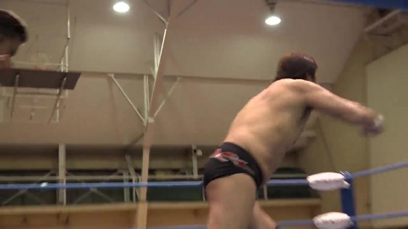 Suwama, Atsushi Aoki, Yusuke Okada vs. Takao Omori, Koji Iwamoto, Josh Bodom (AJPW - Champion Carnival 2018 - Day 5)