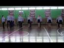 Смотр песни и строя КСОШ №1 9 в класс /22.02.18/