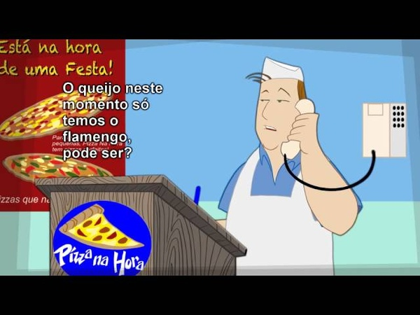 Pizza na Hora, com Márcio o Brasileiro (Animated!)
