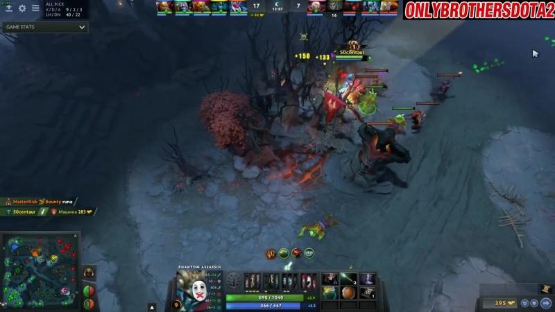 [OnlyBrothers Dota 2] EARLY STOMP - Ace Plays Phantom Assassin - Dota 2