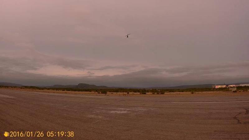 TAROT 450 6S аэродром 3 полет
