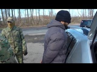 СПЕЦНАЗ ФСБ на задержании убл@дка из ИГИЛ оперативная съёмка