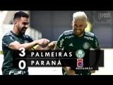 Palmeiras 3 x 0 Paraná - Melhores Momentos (HD 60fps) Brasileirão 29_07