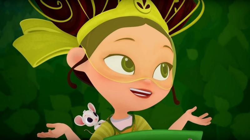 Сказочный патруль Волшебный лес 18 я серия мультфильм о девочках волшебницах